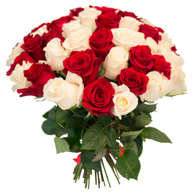 Букет из 55 роз № 2
